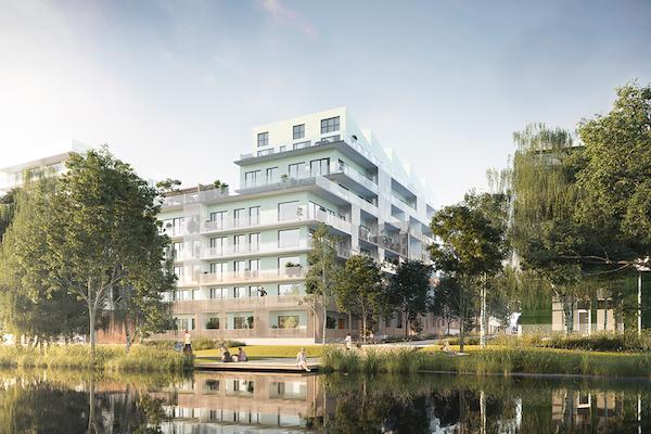 Fasadera Djurgårdsvyn